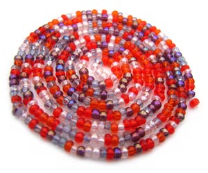 Czech Seed Beads 11/0 Melonberry mini hank