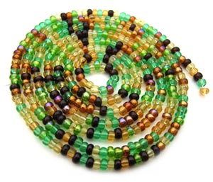 Czech Seed Beads 11/0 Earth Tone mini hank