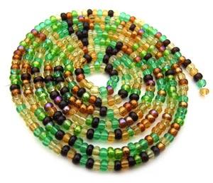 Czech Seed Beads 11/0 Earth Tone mini hank