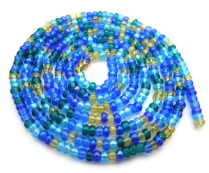 Czech Seed Beads 11/0 Lagoon mini hank