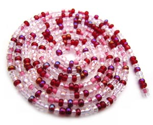 Czech Seed Beads 11/0 Strawberry mini hank