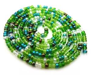 Czech Seed Beads 11/0 Evergreen mini hank