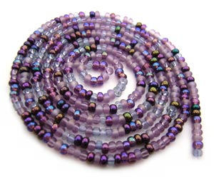 Czech Seed Beads 11/0 Lilac mini hank
