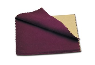 "Rouge Cloth Jewellery Cleaning Polishing 9.5x10"" (24x25cm)"