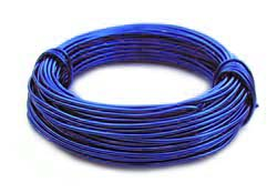 Aluminium Wire 18 gauge (1mm) x39ft (12m) Royal Blue