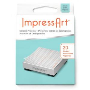 Scratch Protector, (Book of 20 Stickers) ImpressArt Stamping Supplies