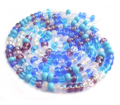 Czech Seed Beads 6/0 Serenity 1 mini Hank