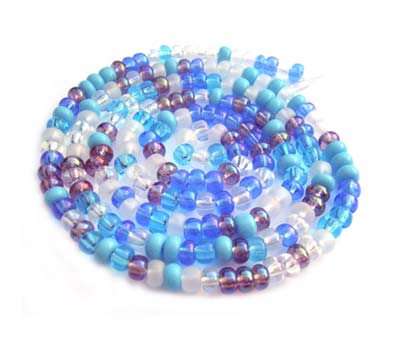 Czech Seed Beads 8/0 Serenity 1 mini Hank