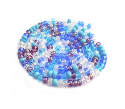Czech Seed Beads 11/0 Serenity mini hank