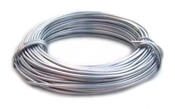 Aluminium Wire 18 gauge (1mm) x39ft (12m) Silver