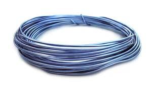 Aluminium Wire 12 gauge (2mm) x39ft (12m) Lilac