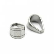 Stainless Steel Bail (11x7mm) x1