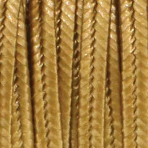 Soutache Braid Cord, Beadsmith 3mm - Metallic Antique Gold