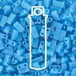 Miyuki Half Tila Bead 1/2 Cut 5mm Opaque Turquoise